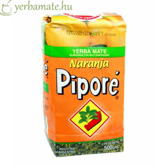 Yerba Mate Tea, Piporé Naranja 500g