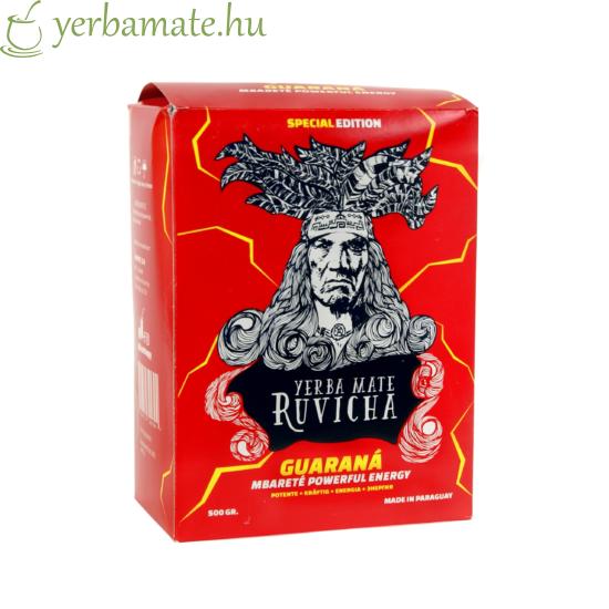 Yerba Mate Tea, Ruvicha Guaraná 500g