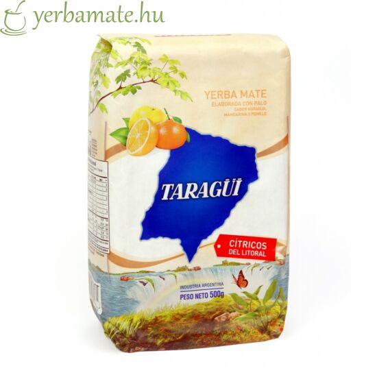 Yerba Mate Tea, Taragüi Cítricos del Litoral 500g sérült csomagolás