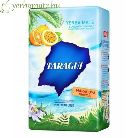 Yerba Mate Tea, Taragüi Maracuya Tropical 500g