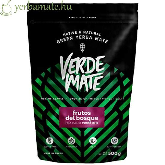 Yerba Mate Tea, Verde Mate Frutos del Bosque 500g