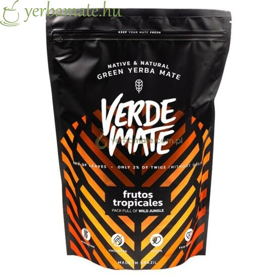 Yerba Mate Tea, Verde Mate Frutos del Bosque 500g