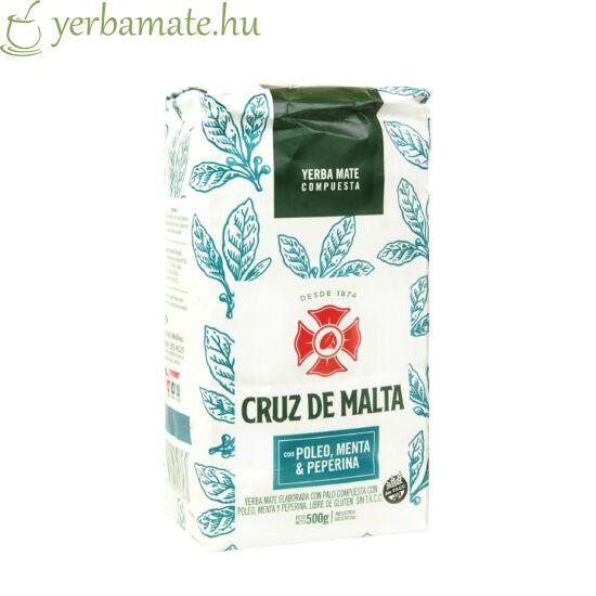 Yerba Mate Tea, Cruz de Malta Poleo con menta & peperina 500g